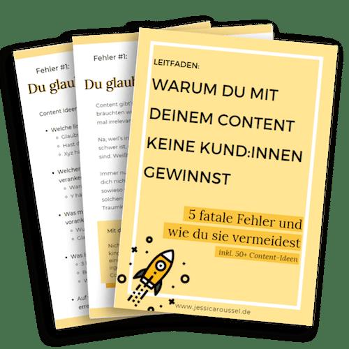 freebie leitfaden content marketing