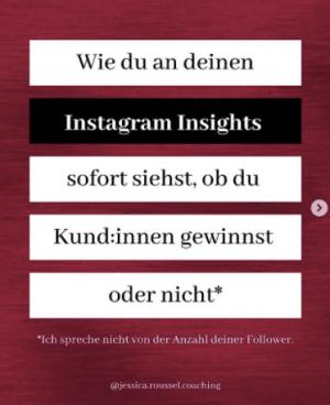 auf instagram auffallen content